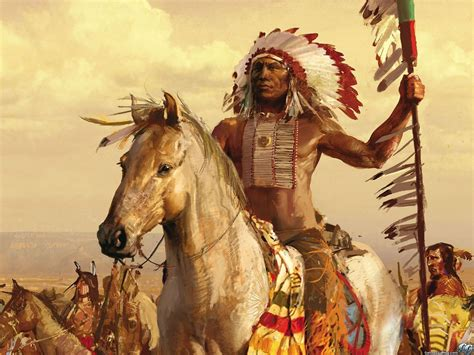 Cool Native American Warrior Wallpapers Top Free Cool