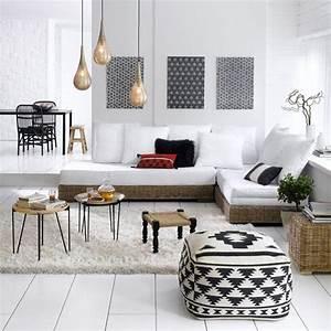 Objet Deco Salon : un objet d co tendance qui trouvera sa place aussi bien au salon que dans une chambre pouf ~ Teatrodelosmanantiales.com Idées de Décoration