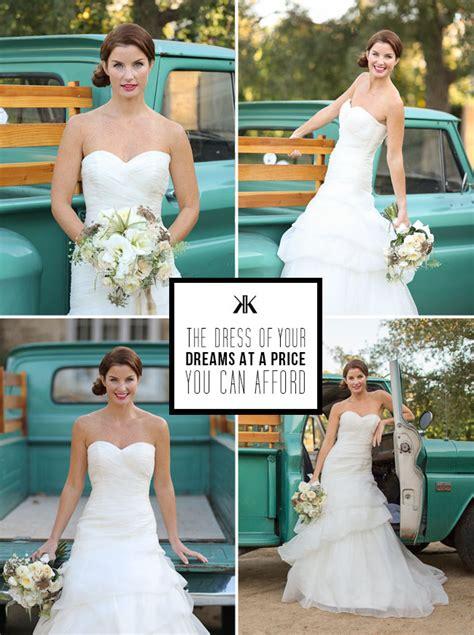 Kirstie Kelly Bridal Gown Blowout Sale Green Wedding
