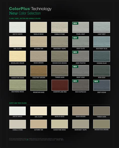 hardie siding colors colorplus technology siding nj above