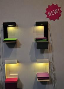 Lampe Chevet Murale : table de chevet qui se fixe au mur ~ Premium-room.com Idées de Décoration