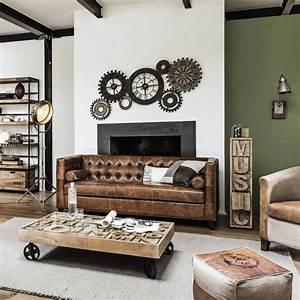 Maison Du Monde Coiffeuse : bien d corer votre int rieur avec des meubles industriels ~ Teatrodelosmanantiales.com Idées de Décoration