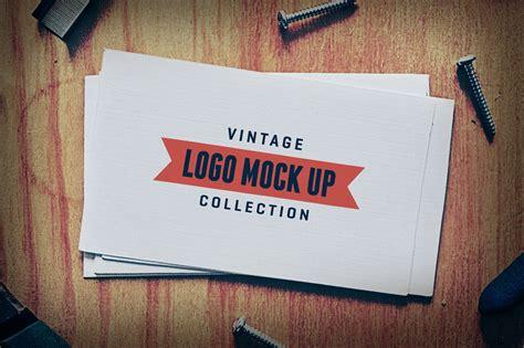 vintage logo mock  templates branding mockups