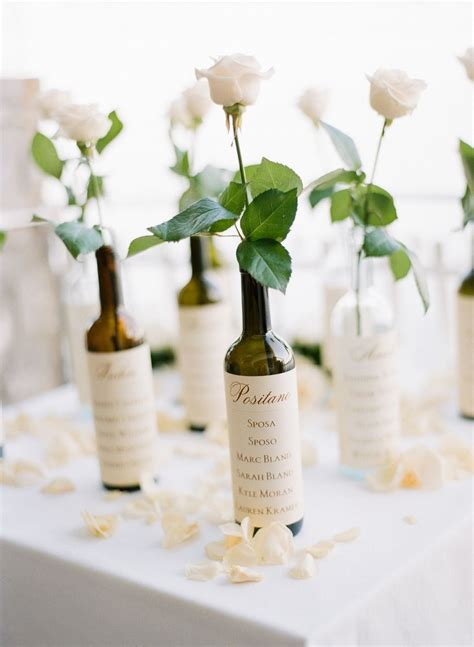Decorative Wine Bottles For Wedding by Wedding Decorative Bottles Wine Bottle Seating Chart