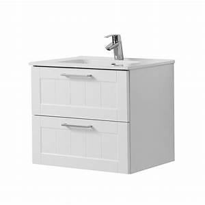 Waschtisch Mit Keramikbecken : bad waschtisch barolo 2 ausz ge 60 cm breit wei matt bad waschtische ~ Sanjose-hotels-ca.com Haus und Dekorationen