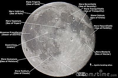 map   moon royalty  stock images image