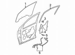 Buick Rendezvous Door Wiring Harness  Front   W  O Seat