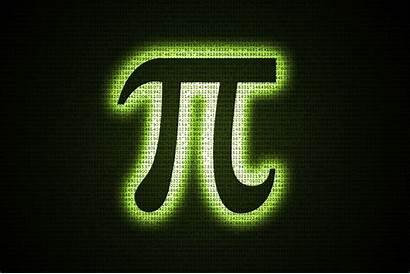 Pi Symbol Matrix Days Screen