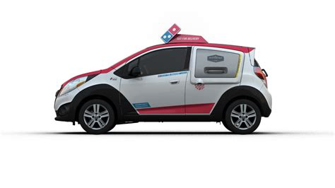 Dominos Pizza Cars by Pizza Domino S Dxp 25k Chevy Spark Includes Warming Oven