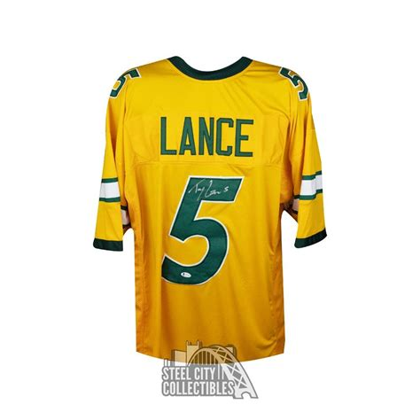 Jun 23, 2021 · the san francisco 49ers leapfrogged nine spots up to draft quarterback trey lance this past nfl draft, which means they didn't select him just to have him sit until 2023. Trey Lance Autographed North Dakota State Custom Yellow ...