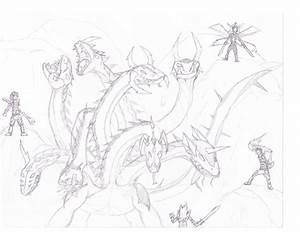 Hydra Dragon Drawing | www.imgkid.com - The Image Kid Has It!