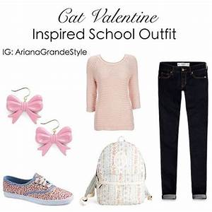 Ariana Grande (Cat Valentine) Inspired School Outfit Top ...