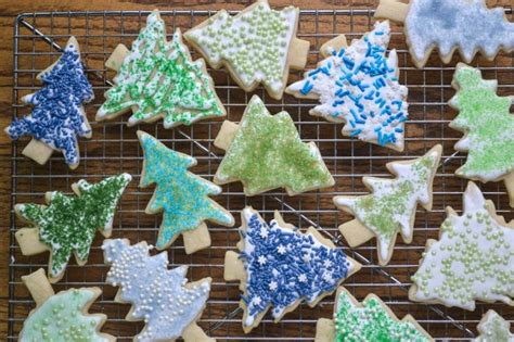 add sugar to christmas tree water sugar cookies and diy colored sugar the view from great island