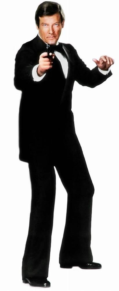 Bond Roger Moore James 007 Poster Cardboard