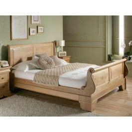 sleep sanctuary toulouse oak wooden sleigh bed  master bedroom ideas wooden