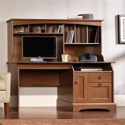 sauder graham hill desk sauder graham hill w hutch autumn maple finish computer