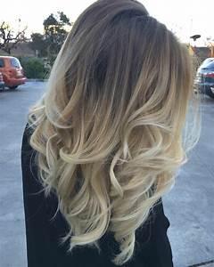 Balayage Cheveux Bouclés : 1001 looks impressionnant avec le balayage blond ~ Dallasstarsshop.com Idées de Décoration