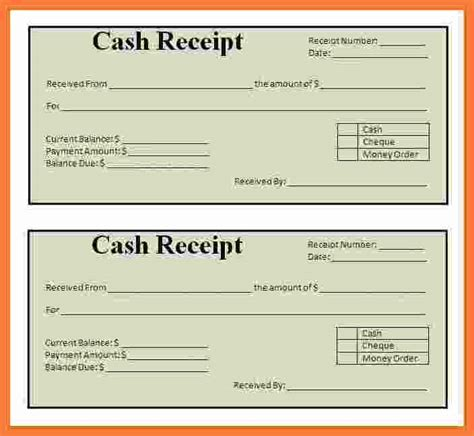printable receipts marital settlements information