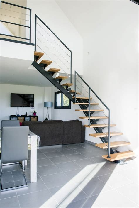 garde corps escalier escalier design sur mesure en normandie toutes nos r 233 alisations