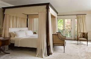 Bedroom : Diy Four Poster Bed With Curtains Diy Four