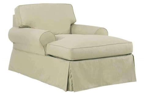 Chaise Chair With Arms by Camden Slipcover Two Arm Chaise Lounge