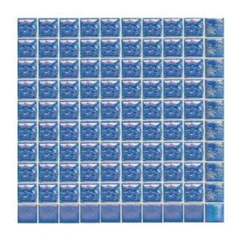 home depot wall tile sheets daltile sonterra glass navy blue iridescent 12 in x 12 in