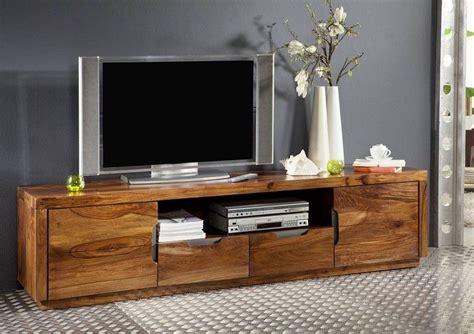 Tv Board Modern by Tv Board Sheesham 200x45x50 Walnuss Lackiert Duke 123