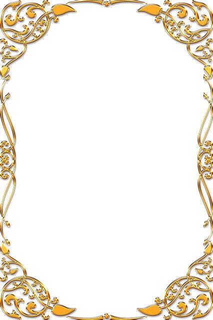 frame ornate gold  image  pixabay