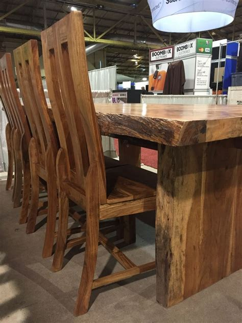 edge table kitchen wood slab table  edge furniture table