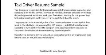 cab driver resume objective great sle resume taxi driver resume sle