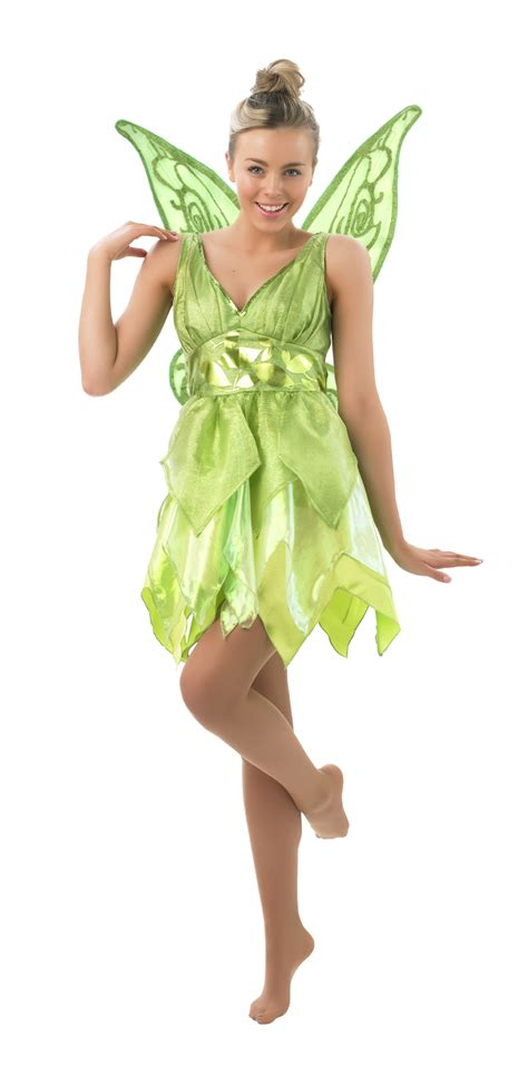 karneval kostüm tinkerbell rub disney damen kost 252 m fee tinkerbell als elfe karneval fasching ebay