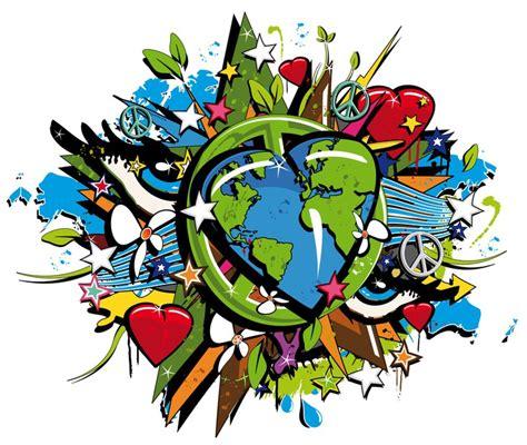 developpement photo sur toile tableau sur toile graffiti bio terre durable pop symbole de d 233 veloppement pixers 174 nous