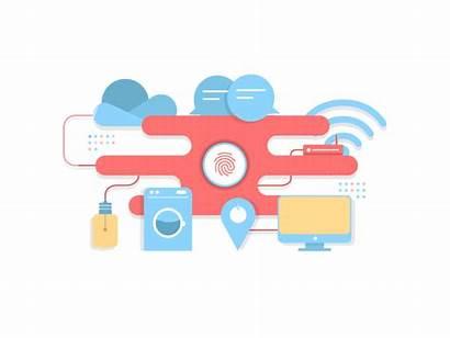Animation Internet Marketing Motion Iot Things Data
