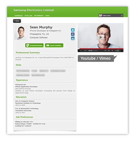 social recruiting gets better with employyd application