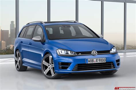 volkswagen golf official 2015 volkswagen golf r variant gtspirit