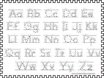 alphabet worksheets  preschool kindergarten