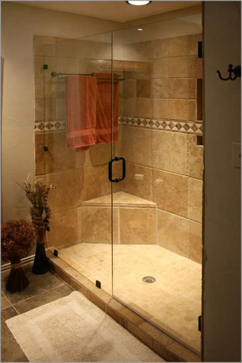 showers glass showers and stone shower on pinterest