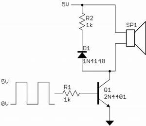 microcontroller using a microcomputer in the drive With circuit piezo