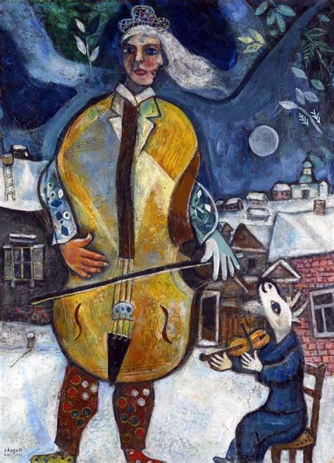 cellist  marc chagall