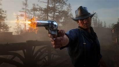 Dead Redemption Morgan Arthur Pistol Wallpapers Background