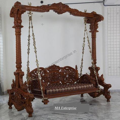 indian wooden jhula swing  home home swing wooden