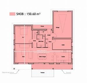 terrasse couverte surface habitable With comment calculer surface habitable d une maison