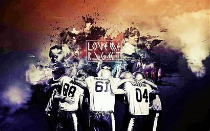 Exo Lmr Wallpapersafari Chanyeol Deviantart Concert Fan