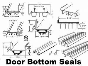 Entry Door Bottom Sweeps And Door Bottom Threshold Seals