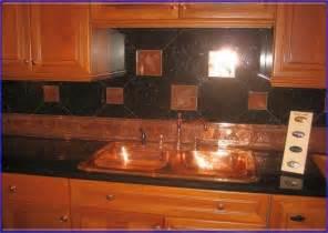 copper kitchen backsplash ideas copper backsplash ideas