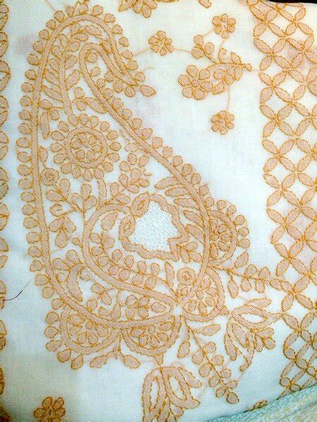 chikankari embroidery tutorial sew guide