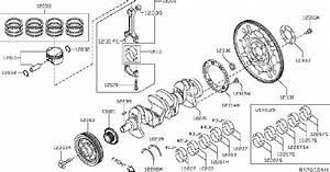Nissan Rogue Ring Set Piston  Pistons  Crank