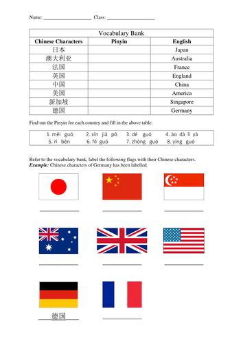 countries worksheets teaching resources