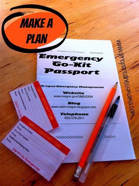 family emergency plan preparednessmama