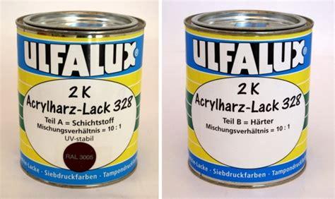 zwei komponenten lack zwei komponenten acryl lack 328 uv stabil